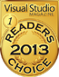 visual studio award