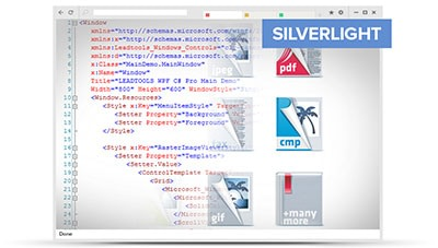 Silverlight File Formats