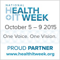 10th annual National Health IT Week (October 5 – 9, 2015)