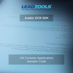 Arabic OCR C# Console Project