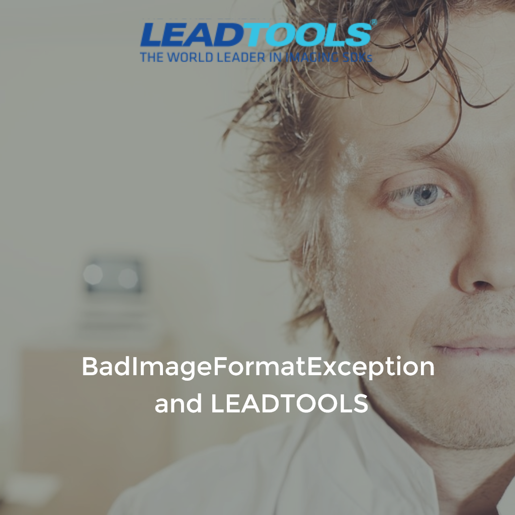 BadImageFormatException and LEADTOOLS