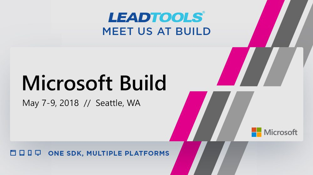 Join LEAD at Microsoft Build 2018