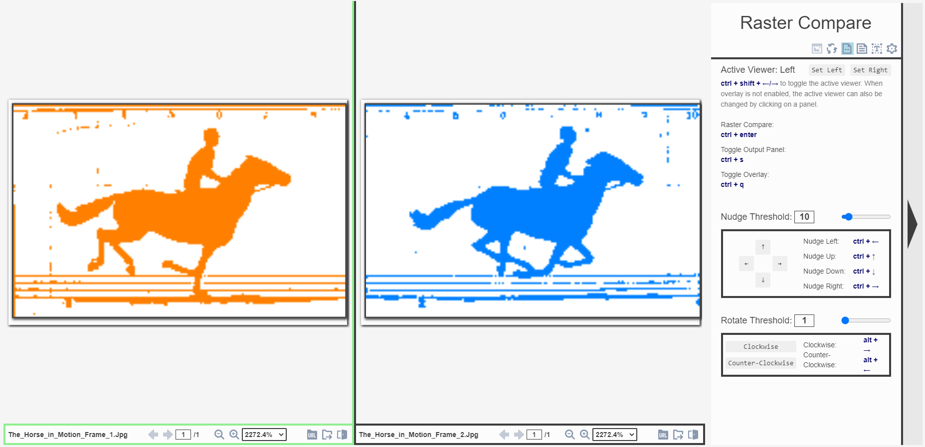 HorseInMotionFrames1And2