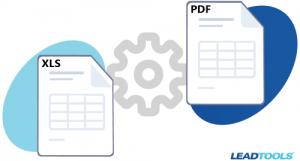 XLS and PDF Conversion