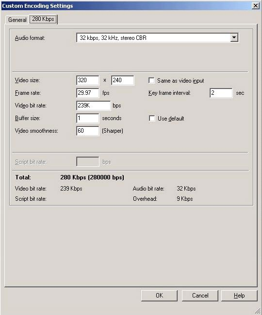 How to use the H 264 encoder with Windows Media Encoder