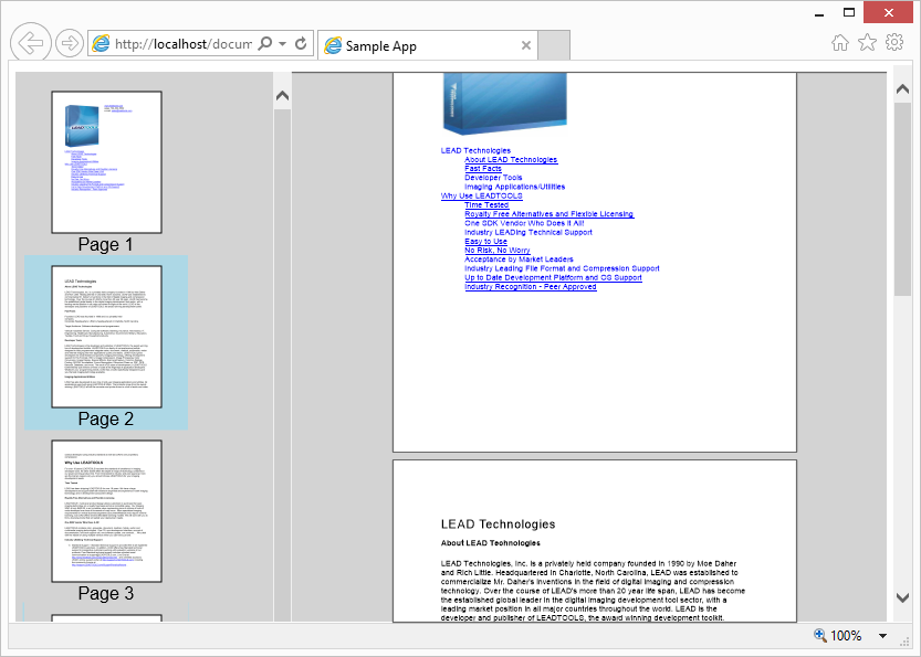 Using LEADTOOLS Document Viewer - Raster, Medical, Document Help
