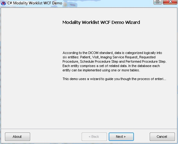 LEADTOOLS Modality Worklist WCF and MPPS WCF - Raster, Medical