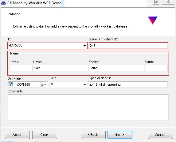 LEADTOOLS Modality Worklist WCF and MPPS WCF - Raster