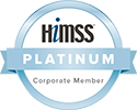 HIMSS Platinum Corporate Member logo