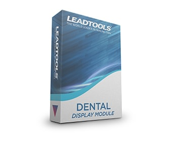 LEADTOOLS Dental Display Module