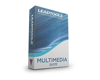 LEADTOOLS Multimedia Suite v20 box