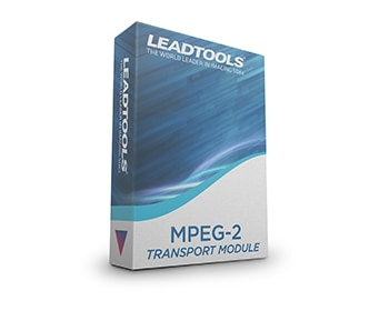LEADTOOLS MPEG-2 Transport Module v20 box
