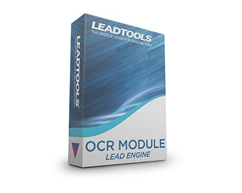 LEADTOOLS OCR Module - LEAD Engine v20 box