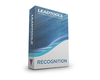 LEADTOOLS Recognition v20 box