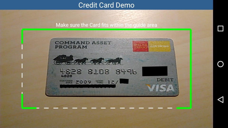 Credit Card Recognition
