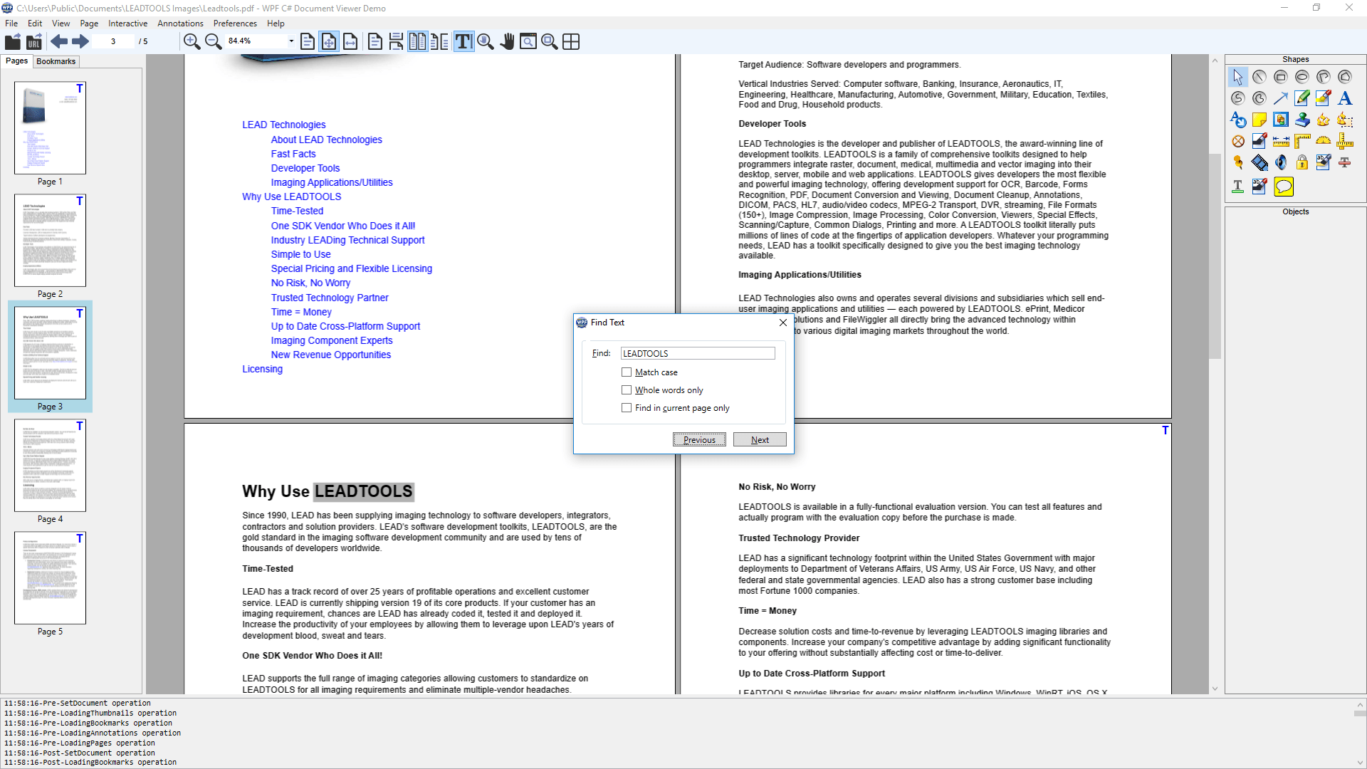 .NET Document Viewer