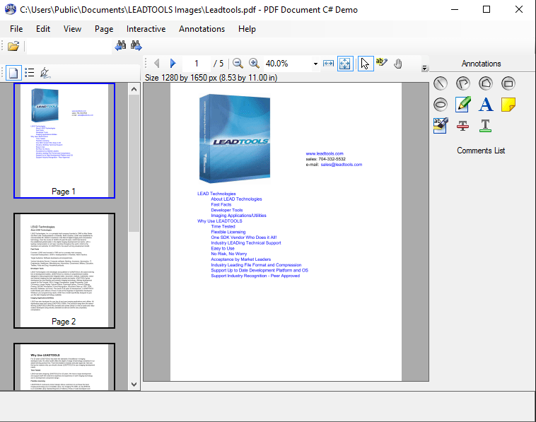 download pdf file from website c#