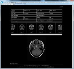 Medical Web Viewer Framework ~ Thin HTML Series Viewer