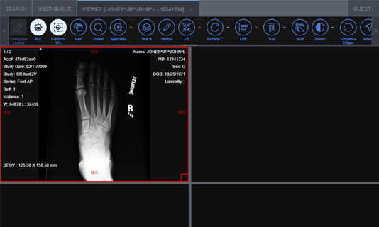 Medical Web Viewer screenshot