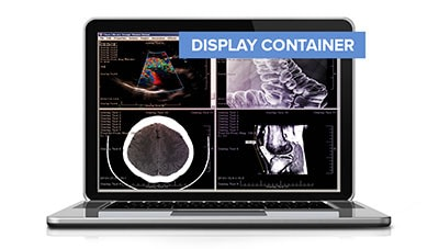 Medical Image Display Container