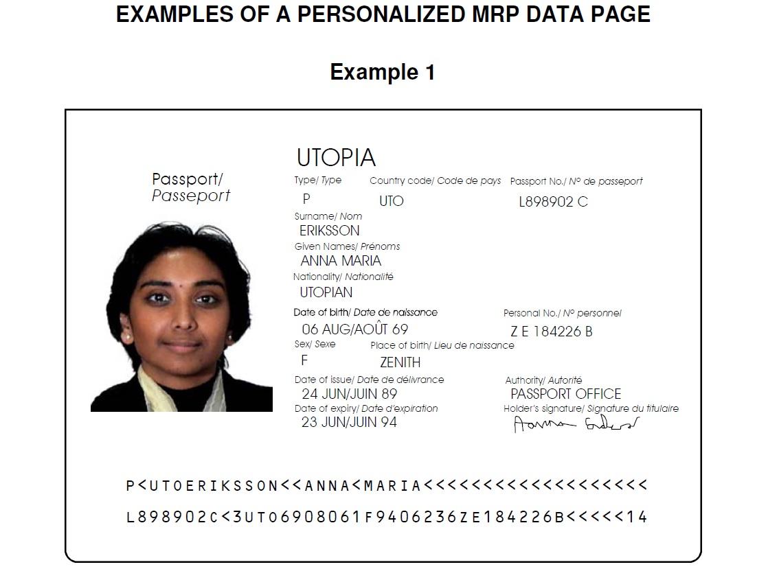 Passport Sample